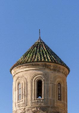 IBLPSI03661213 Bell tower, Gelati Monastery, UNESCO World Heritage Site, near Kutaisi, Imereti region, Georgia, Asia