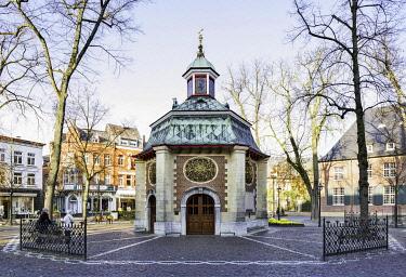 IBLRBB04115891 Chapel of Grace, 1654, Kevelaer, Lower Rhine, North Rhine-Westphalia, Germany, Europe