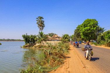 HMS3238500 Burkina Faso, Centre region, Ouagadougou, lake of dam number 3