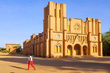 HMS3238509 Burkina Faso, Centre region, Ouagadougou, the Immaculate Conception Cathedral