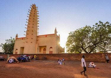 HMS3252009 Burkina Faso, Boulkiemdé province, Koudougou, the great mosque