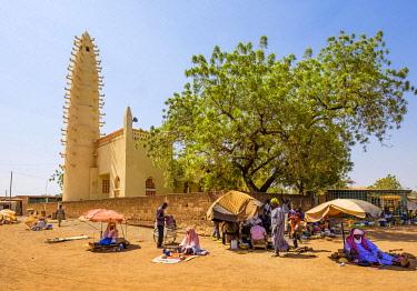 HMS3252015 Burkina Faso, Boulkiemdé province, Koudougou, the great mosque