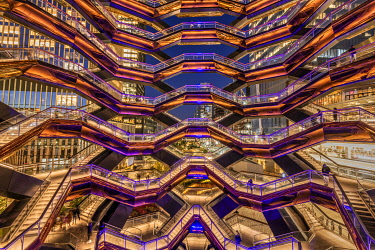 USA14818AW The Vessel, Hudson Yards Redevelopment Project, Manhattan, New York, USA