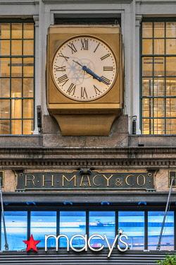 USA14829AW Macy's department store, Herald Square, Manhattan, New York, USA