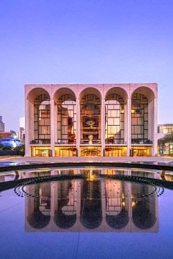 USA14831AW Metropolitan Opera House, Lincoln Center, Upper West Side, Manhattan, New York, USA