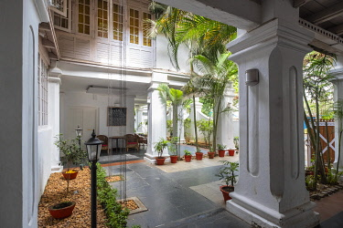HMS3290191 Inde, state of Kerala, Kochi (or Cochin), Fort Kochi (ou Fort Cochin) district, Tower House boutique hotel