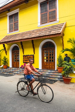 HMS3290197 Inde, state of Kerala, Kochi (or Cochin), Fort Kochi (ou Fort Cochin) district, Forte Kochi boutique hotel