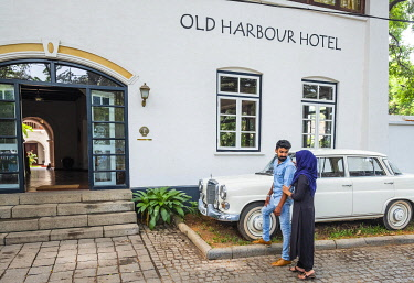 HMS3290240 Inde, state of Kerala, Kochi (or Cochin), Fort Kochi (ou Fort Cochin) district, Old Harbour boutique hotel, 300 years old house built by the Dutch