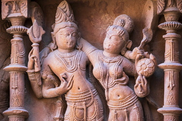 HMS3429314 India, Rajasthan, Osiyan (or Osian), gateway to the Thar desert, Sachiya Mata hindu temple