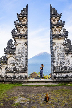 HMS3373195 Indonesia, Bali, Karangasem, Pura Lempuyang temple