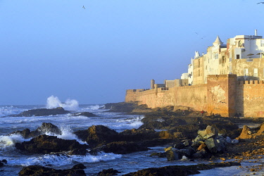 HMS3408131 Morocco, Mogador, Marrakesh Safi region, Essaouira, listed as World Heritage by UNESCO, old city, fortifications of the medina