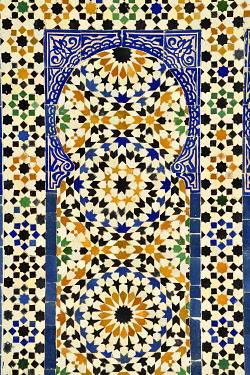 HMS3417364 Morocco, High Atlas, Marrakesh, Imperial City, medina listed as World Heritage by UNESCO, Museum of Confluences Dar El Bacha, Hammam