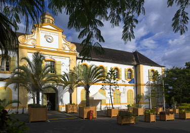 HMS3202123 France, Reunion island, Saint Pierre, the town hall, former building of the East India Company