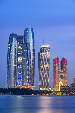 HMS3263473 United Arab Emirates, Abu Dhabi, Al Khubeirah district, Etihad Towers
