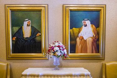 HMS3263479 United Arab Emirates, Abu Dhabi, Al Ras Al Akhdar district, Emirates Palace Hotel
