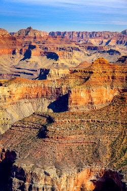 USA15035AWRF Idyllic shot of Grand Canyon along Hermit Road, Grand Canyon National Park, Arizona, USA