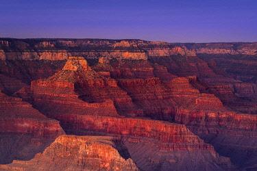 USA15036AWRF Scenic view of Grand Canyon at sunset, Hopi Point, Grand Canyon National Park, Arizona, USA