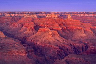USA15037AWRF Scenic view of Grand Canyon at sunset, Hopi Point, Grand Canyon National Park, Arizona, USA