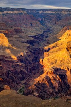 USA14976AW Grand Canyon at sunset, Yavapai Point, Grand Canyon National Park, Arizona, USA