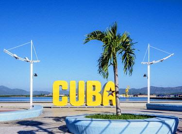 CUB1699AWRF Cuba Letters, Santiago de Cuba, Santiago de Cuba Province, Cuba