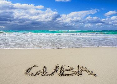 CUB1713AWRF Beach in Varadero, Matanzas Province, Cuba