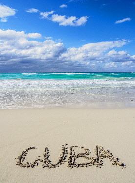 CUB1714AWRF Beach in Varadero, Matanzas Province, Cuba