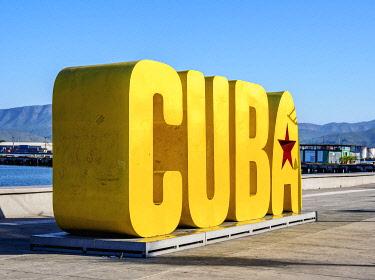 CUB1886AW Cuba Letters, Santiago de Cuba, Santiago de Cuba Province, Cuba