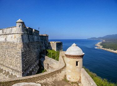 CUB1918AW San Pedro de la Roca Castle, UNESCO World Heritage Site, Santiago de Cuba, Santiago de Cuba Province, Cuba