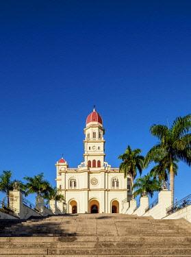 CUB1947AW Nuestra Senora de la Caridad del Cobre Basilica, El Cobre, Santiago de Cuba Province, Cuba