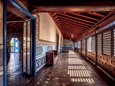 CUB2059AW Diego Velazquez House, interior, Santiago de Cuba, Santiago de Cuba Province, Cuba