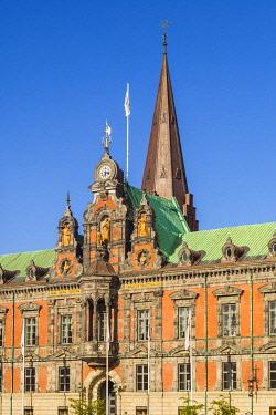 SW03284 Sweden, Scania, Malmo, Stortorget square, Radhuset, city hall