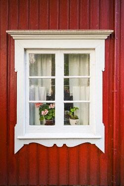 SW03369 Sweden, Bohuslan, Smogen, house detail