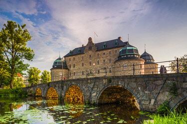 SW03407 Sweden, Narke, Orebro,  Orebro Slottet Castle, exterior