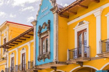 NIC0220AW Local architecture, Granada, Nicaragua
