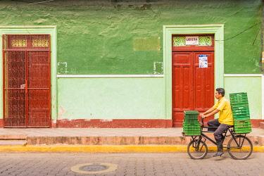 NIC0227AW Local architecture, Granada, Nicaragua