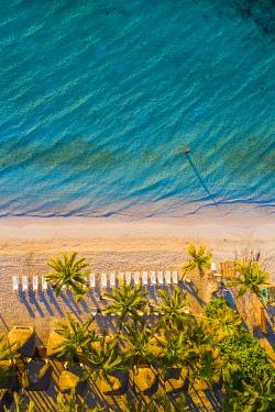 MEX1949AW Akumal beach, Quintana Roo, Mexico