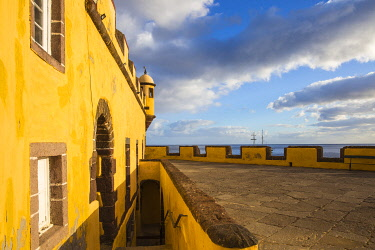 PT04067 Portugal, Madeira, Funchal, Sao Tiago Fort