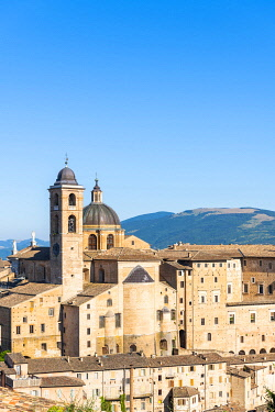 CLKAC122934 Ducal Palace, Urbino, Marche, Italy, Europe