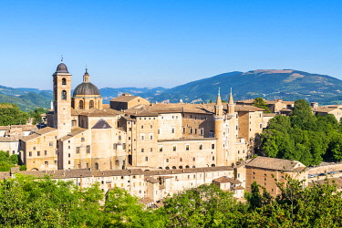 CLKAC122935 Ducal Palace, Urbino, Marche, Italy, Europe