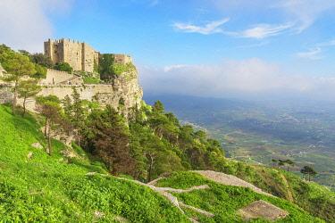 ITA15060AW Venus Castle, Erice, Sicily, Italy