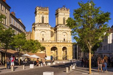 HMS3527641 France, Gers, Auch, stop on El Camino de Santiago, Sainte Marie Cathedral
