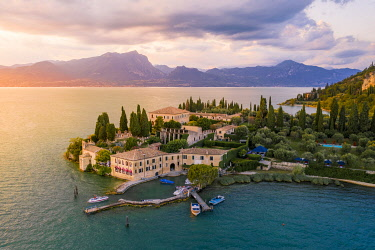 CLKST122002 Punta San Vigilio, Garda, Garda Lake, Verona province, Veneto, Italy