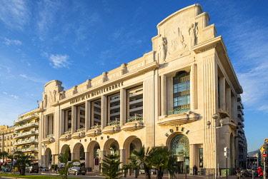 FR02832 Palais de la Méditerranée Casino and Hotel , Promenade des Anglais, Baie des Anges, Nice, South of France,