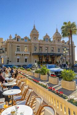 MN01061 Monte Carlo Casino and Cafe de Paris, Monte Carlo, Monaco
