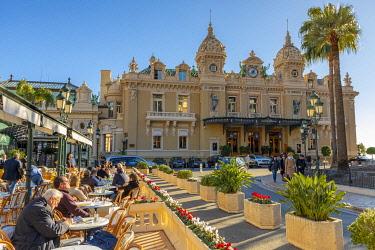 MN01062 Monte Carlo Casino and Cafe de Paris, Monte Carlo, Monaco
