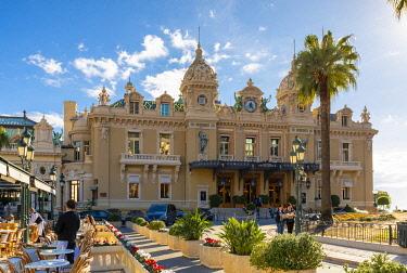 MN01068 Monte Carlo Casino and Cafe de Paris, Monte Carlo, Monaco