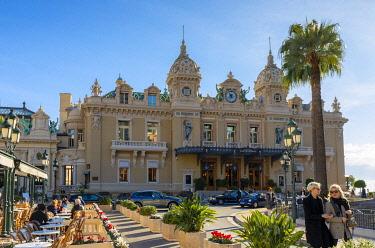 MN01069 Monte Carlo Casino and Cafe de Paris, Monte Carlo, Monaco