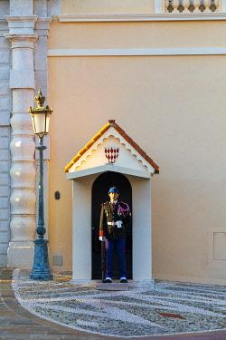 MN01073 The Palace Guard, The Prince's Palace of Monaco, Monte Carlo, Monaco