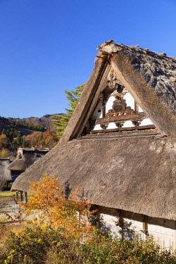 JAP2135AWRF Traditional houses of Ogimachi (UNESCO World Heritage Site), Shirakawa-go, Toyama Prefecture, Japan