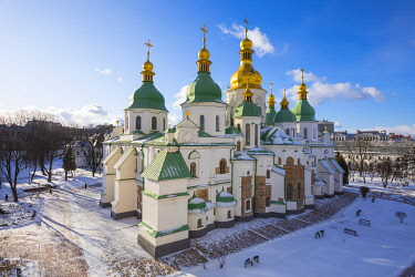 UA01184 St. Sophia's Cathedral, Kiev (Kyiv), Ukraine